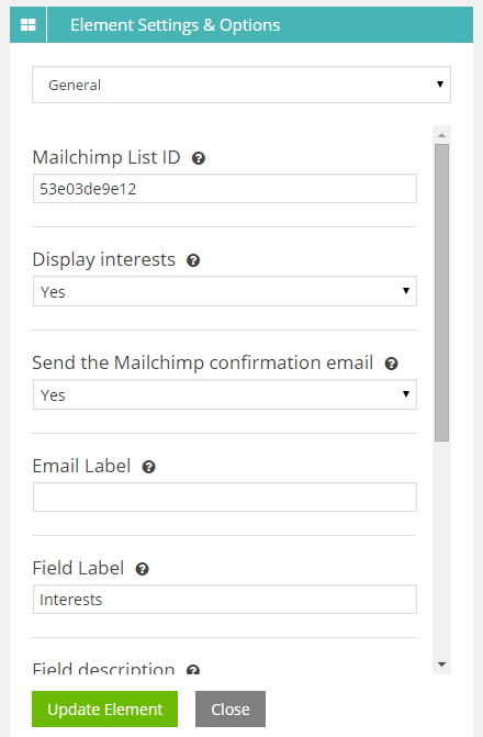 mailchimp-options
