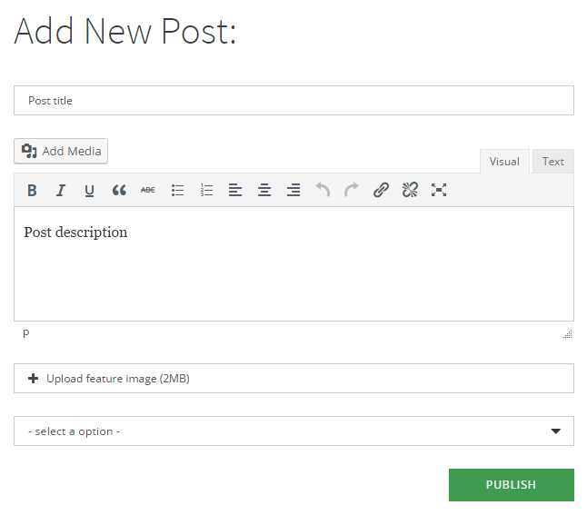 Super Forms - Front-end Posting Add-on - 2